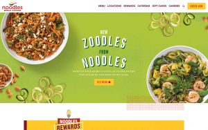 Noodles World Kitchen Website