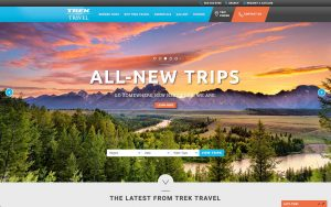 Trek Travel Website