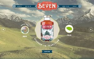 Seven Teas Website