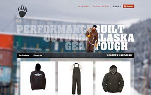 Alaskan Hardgear Website
